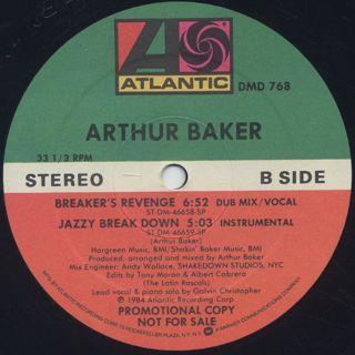 Arthur Baker / Breaker's Revenge label