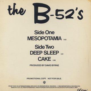B-52's / Mesopotamia