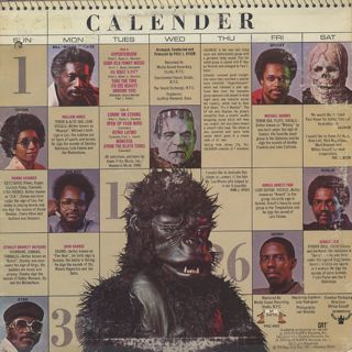 Calender / It's A Monster back