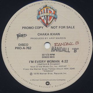 Chaka Khan / I'm Every Woman (12
