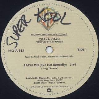 Chaka Khan / Papillon (aka Hot Butterfly) back