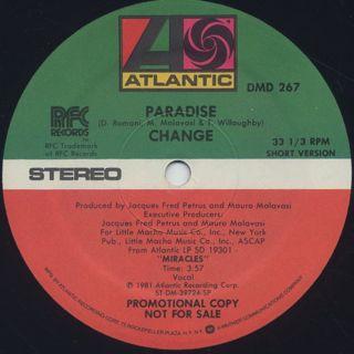 Change / Paradise (12