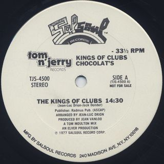 Chocolat's / Kings Of Clubs label