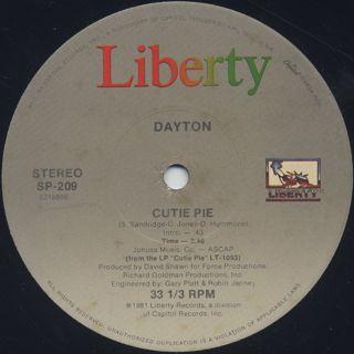 Dayton / Cutie Pie (12