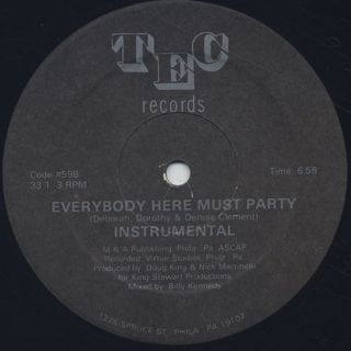 Direct Current / Everybody Here Must Party back