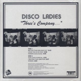 Disco Ladies / Three's Company... back