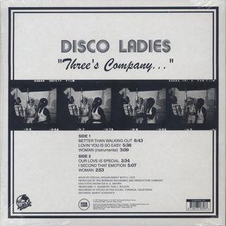 Disco Ladies / Three's Company... back
