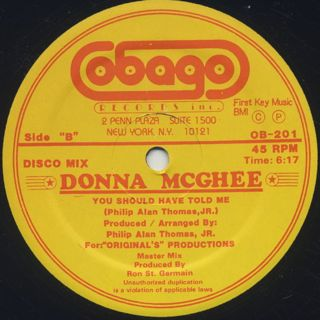 Donna McGhee / You Should Have Told Me back