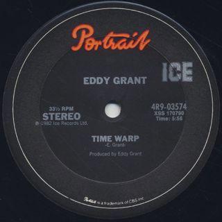 Eddy Grant / Electric Avenue c/w Time Warp
