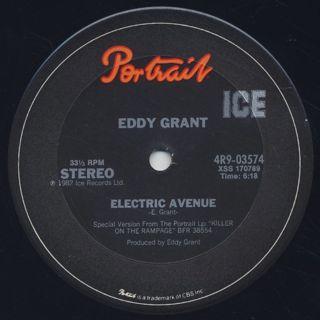 Eddy Grant / Electric Avenue c/w Time Warp back
