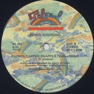 Edwin Birdsong / Rapper Dapper Snapper label