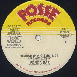 Fonda Rae / Heobah (Hey-O-Bah)