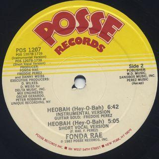 Fonda Rae / Heobah (Hey-O-Bah) back