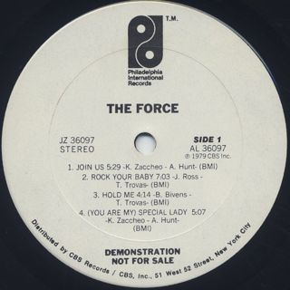 Force / S.T. label