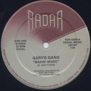 Gary's Gang / Makin' Music back