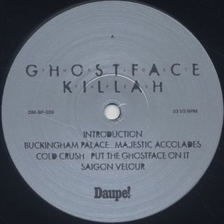 Ghostface Killah / The Lost Tapes label