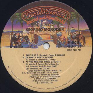 Giorgio Moroder / E=MC2 label