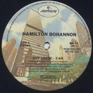 Hamilton Bohannon / Cut Loose c/w The Beat (Part 2) back