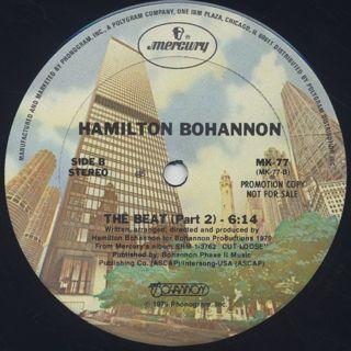 Hamilton Bohannon / Cut Loose c/w The Beat (Part 2) label
