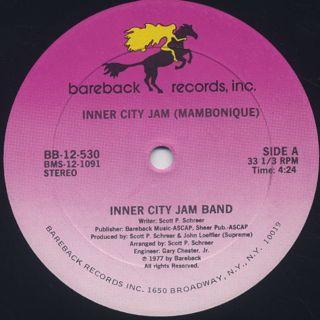 Inner City Jam Band / Inner City Jam (Mambonique) back