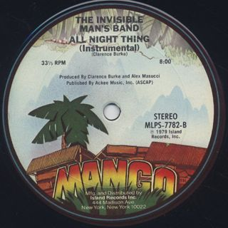 Invisible Man's Band / All Night Thing back