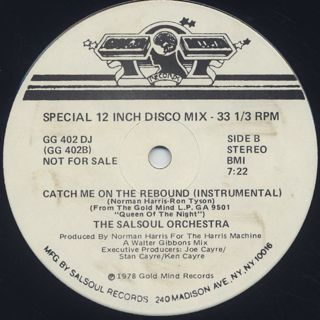 Loleatta Holloway / Catch Me On The Rebound label