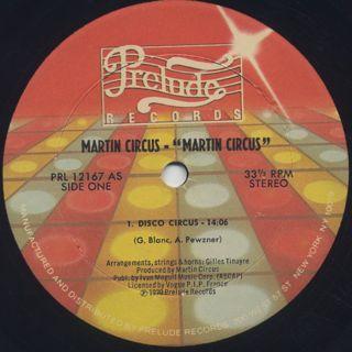 Martin Circus / S.T. label