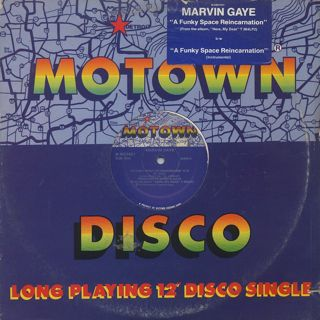 Marvin Gaye / A Funky Space Reincarnation (12