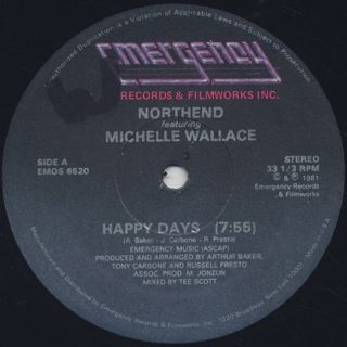 Northend featuring Michelle Wallace / Happy Days