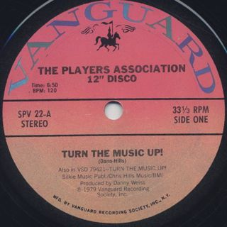 Player's Association / Turn The Music Up!
