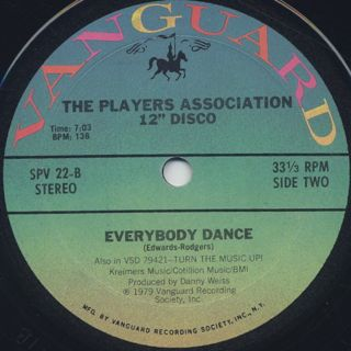 Player's Association / Turn The Music Up! back