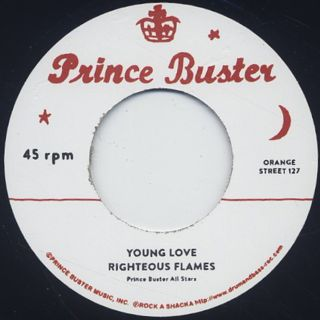 Prince Buster / Let's Go To The Dance back