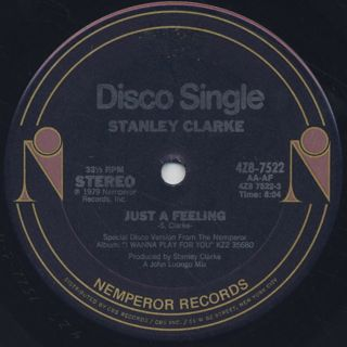 Stanley Clarke / Just A Feeling back
