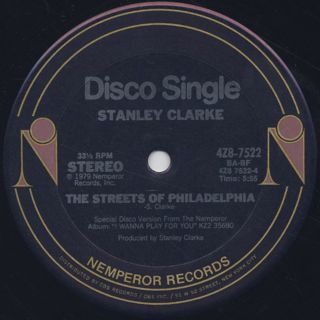 Stanley Clarke / Just A Feeling label