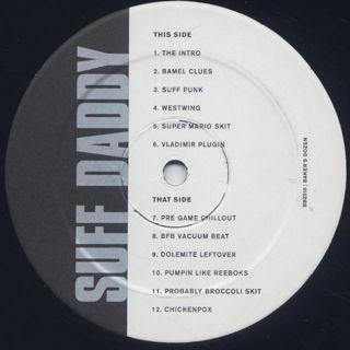 Suff Daddy / Baker's Dozen label