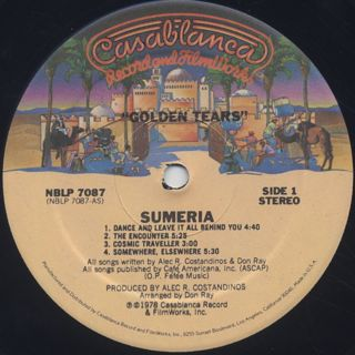Sumeria / Golden Tears label