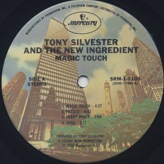 Tony Silvester And The New Ingredient / Magic Touch label