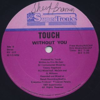 Touch / Without You back