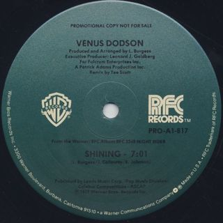 Venus Dodson / Shining back