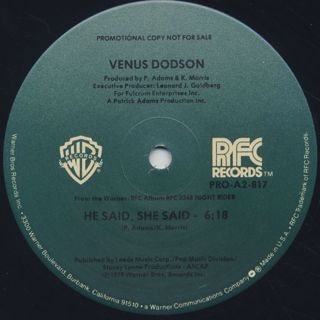 Venus Dodson / Shining label