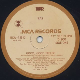 War / Good, Good Feelin' c/w Galaxy