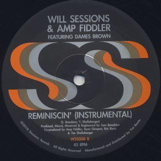 Will Sessions & Amp Fiddler / Reminiscin' back