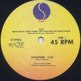 Yaz / Situation label