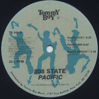 808 State / Pacific label