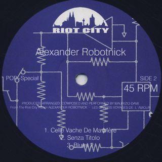Alexander Robotnick / Les Grands Voyages De L'Amour back