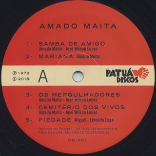 Amado Maita / S.T. label