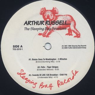 Arthur Russell / The Sleeping Bag Sessions (2LP) label