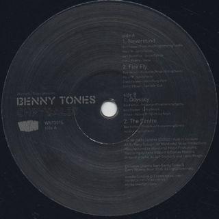 Benny Tones / Chrysalis album sampler E.P. back