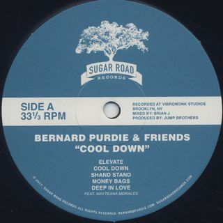 Bernard Purdie & Friends / Cool Down label