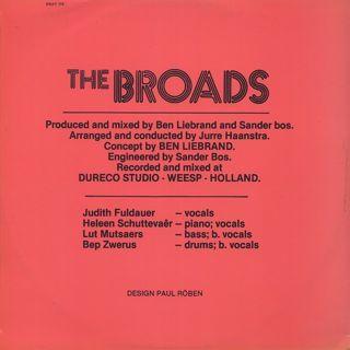 Broads / Sing Sing Sing back